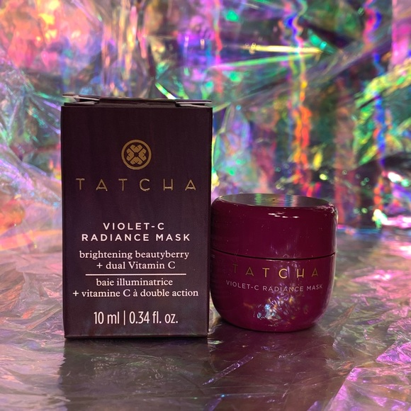 Tatcha Other - NIB TATCHA Violet C Radiance Mask travel 10mL